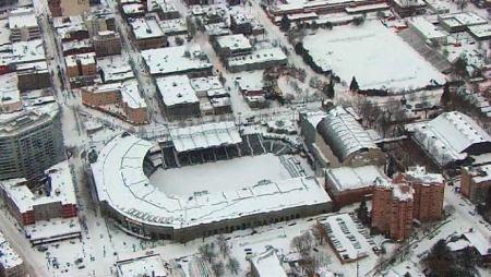 Providence Park Snow